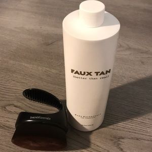 Brand New Bare Minerals Faux Tan with Body Brush